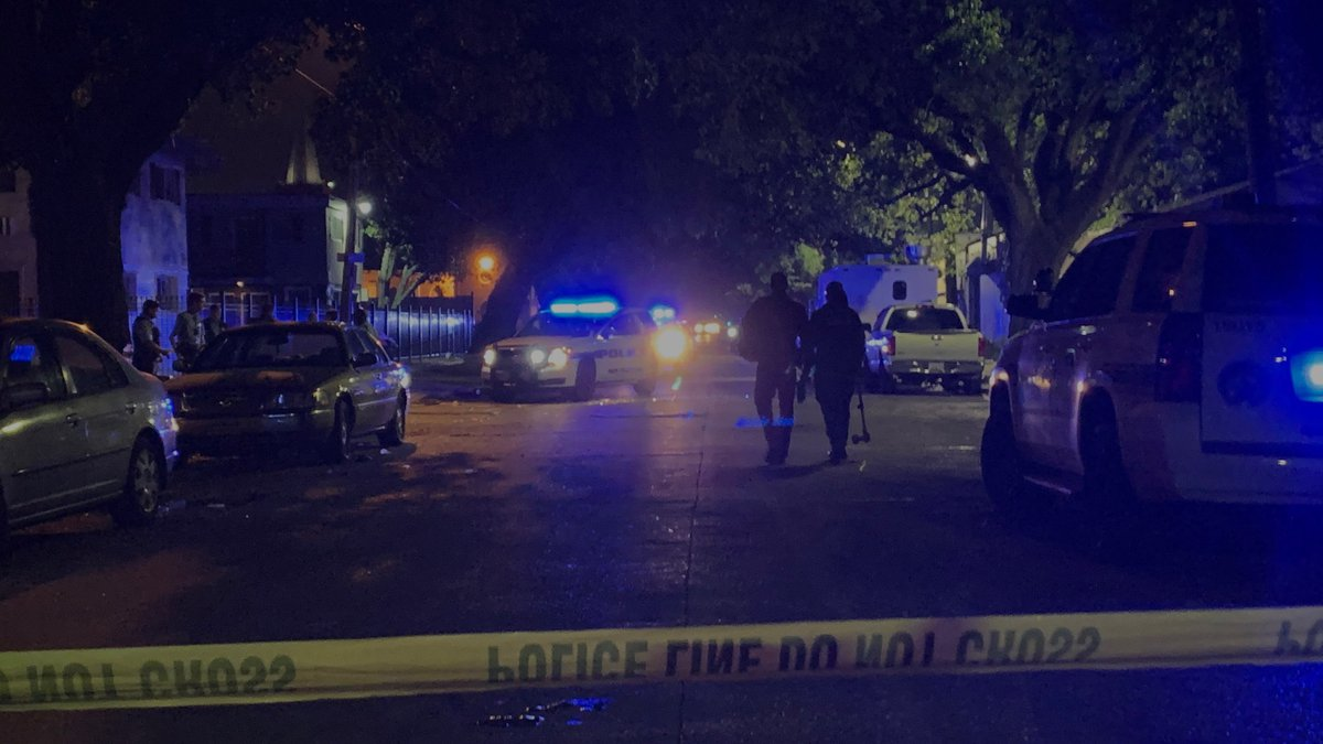 NOPD is investigating a shooting in the 3800 block of Washington Avenue.