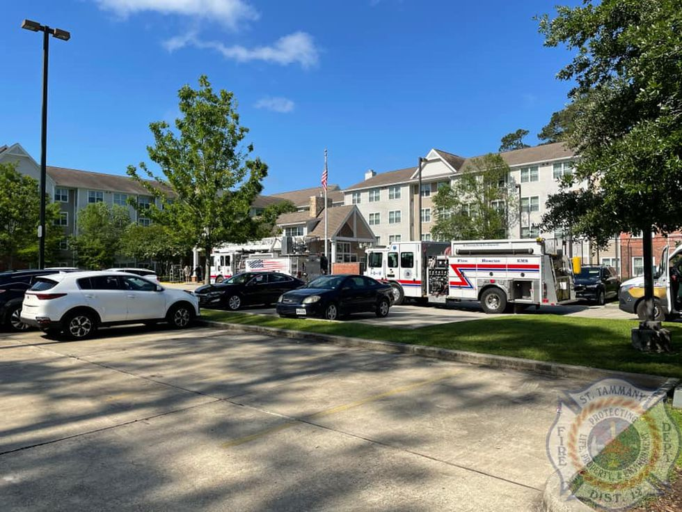 Firefighters were called to the Residence Inn in Covington after guests reported a smell of...