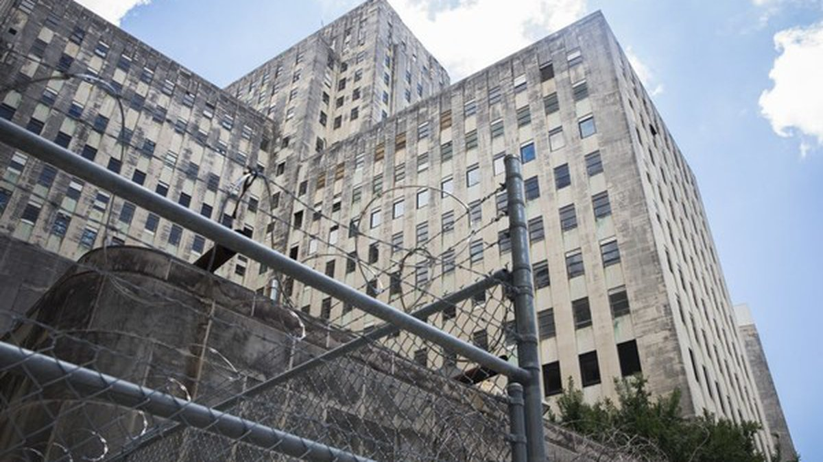 Inside the former site of Charity Hospital in downtown New Orleans on Thursday, July 5, 2018....
