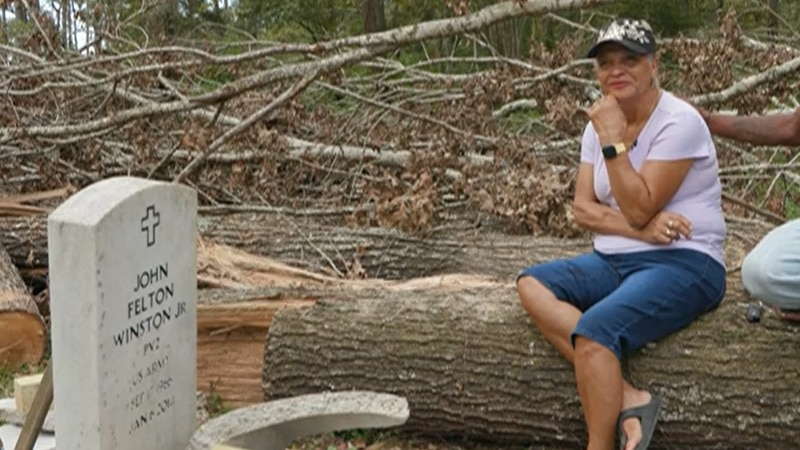 Ida made landfall Aug. 29, but Louise Callahan, Winston's mother, says she didn't find out...