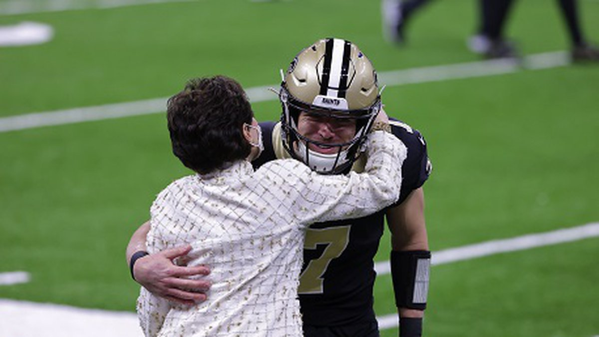 Taysom Hill received hist first start at QB for the Saints. Derick E. Hingle/New Orleans Saints...