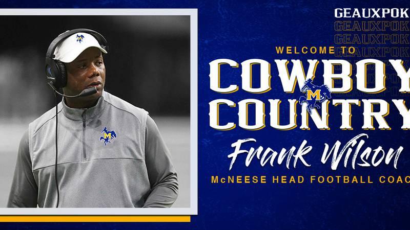 Former Texas-San Antonio head coach Frank Wilson has been hired as the next head football coach...