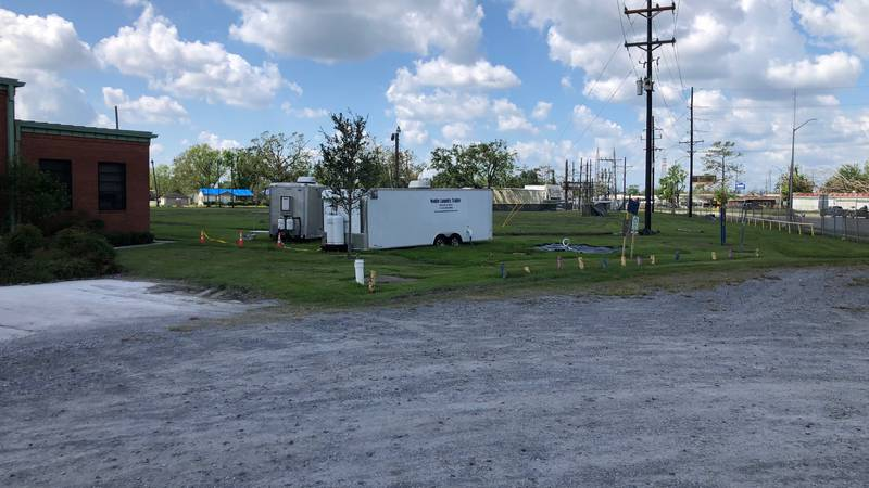 """Dumas Park could be one of six """"tent city"""" locations in Terrebonne Parish."""
