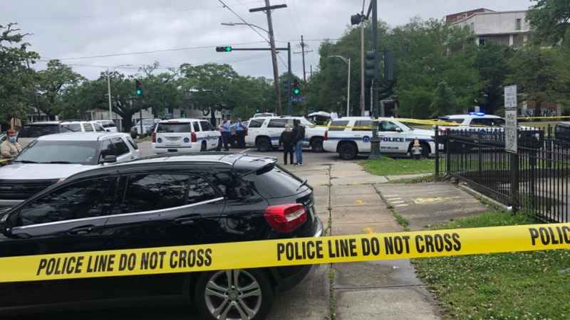 Police say someone tried to rob a vehicle near Neyow's in Mid-City. There was a shootout, but...