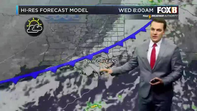 Morning weather update for Monday, Sept. 20