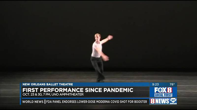 New Orleans Ballet offers free performances