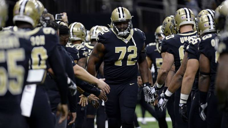 Terron Armstead is in the last year of his contract.