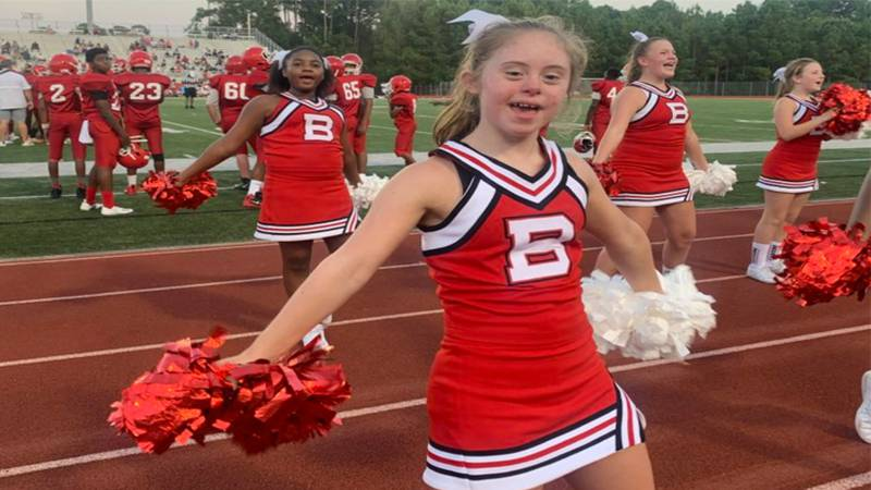 Eight grade student Bailey Edwards has Down Syndrome but those who know her say it doesn't stop...