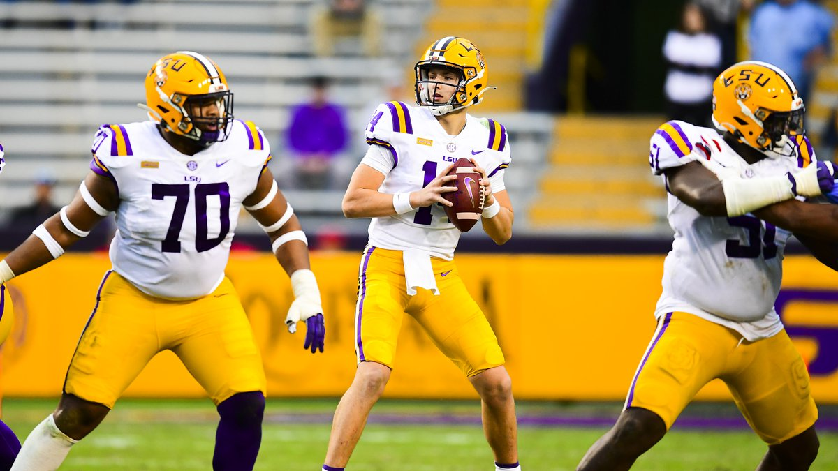 Max Johnson will be QB1 for LSU when they open at UCLA.