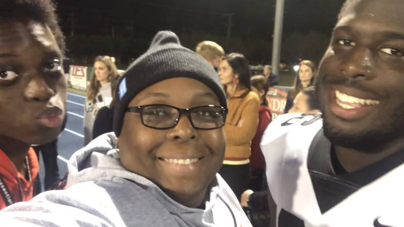 Lake Charles teen plays high school football in Baton Rouge after Laura