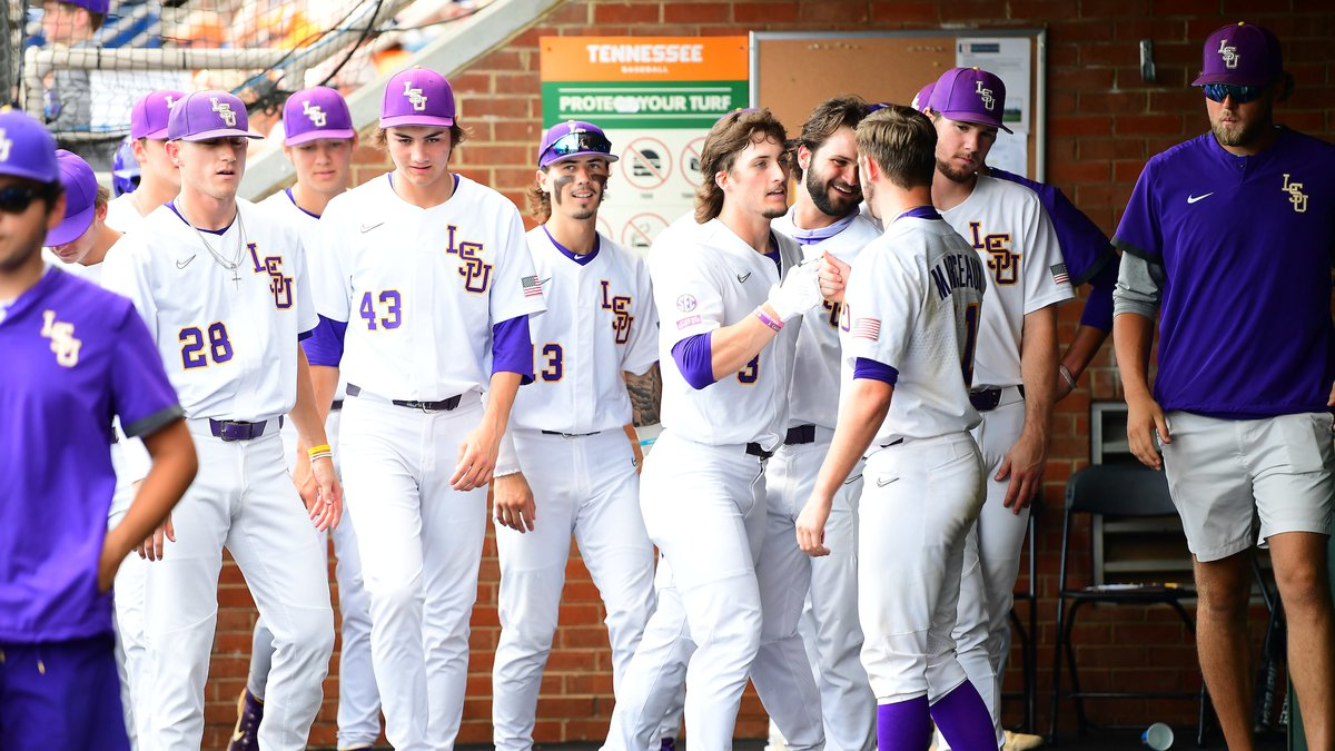 Tigers eliminated from the Super Regionals by the Tennessee Volunteers.