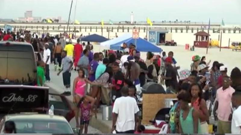 Like last year, thousands of spring breakers are anticipated this weekend in Biloxi.