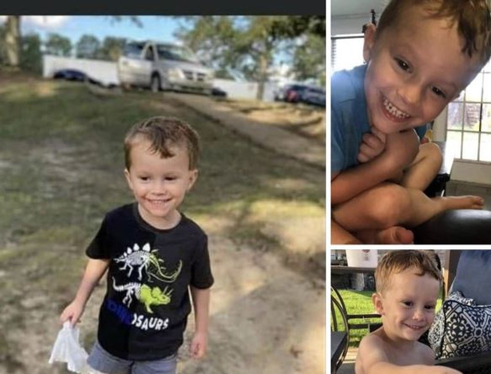 Ellis Boudean went missing in the Jean Lafitte National Park while flying a kite with his mom...
