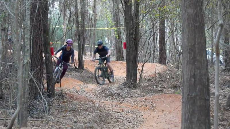 Twelve miles of mountain biking trails are opening this weekend in Bouge Chitto State Park.