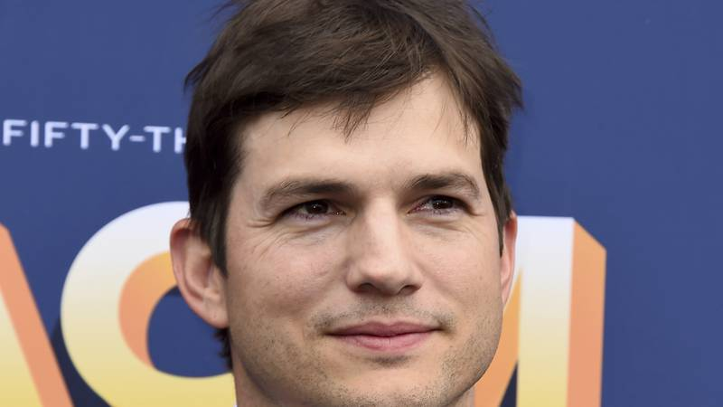 Ashton Kutcher arrive at the 53rd annual Academy of Country Music Awards at the MGM Grand...