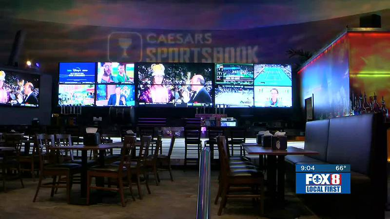 Sports betting is legal in 55 of 64 parishes in Louisiana