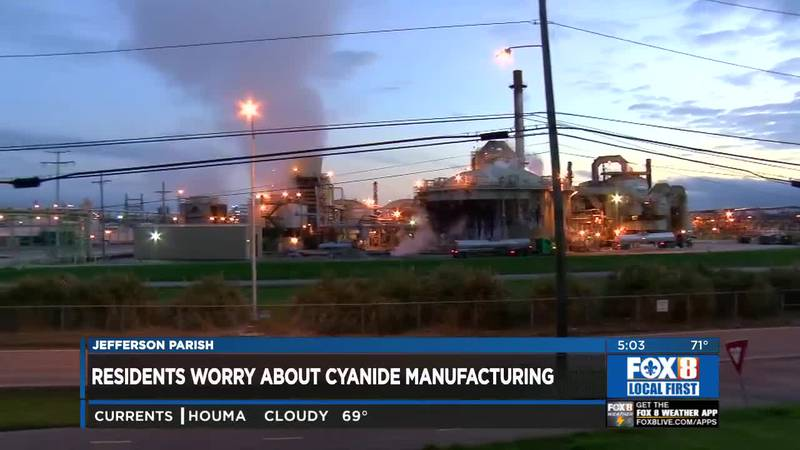 Residents worry about future cyanide plant in Waggaman