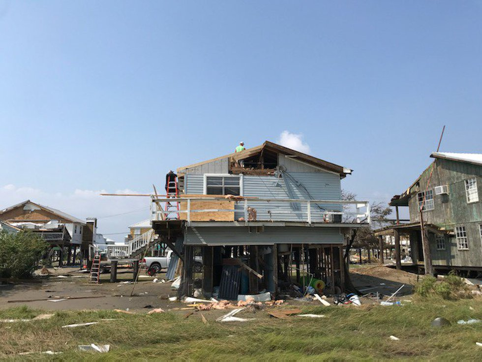 Damage from Hurricane Ida in Louisiana