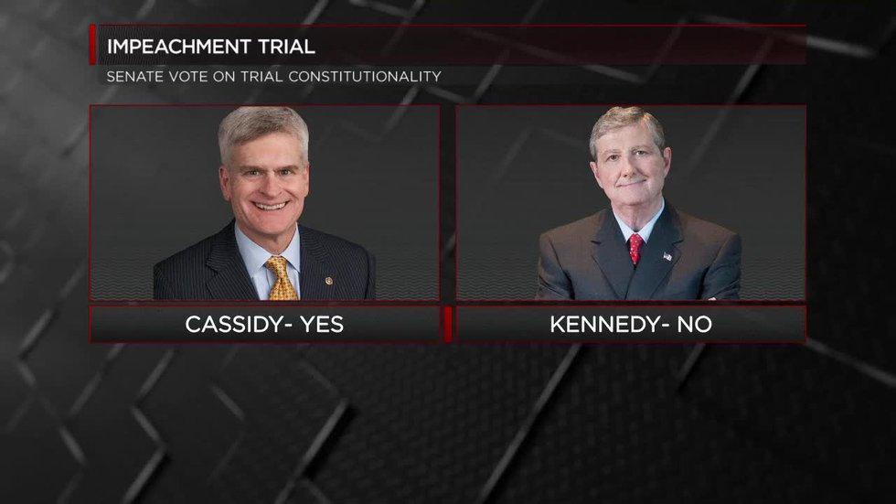 La. senators split on constitutionality vote