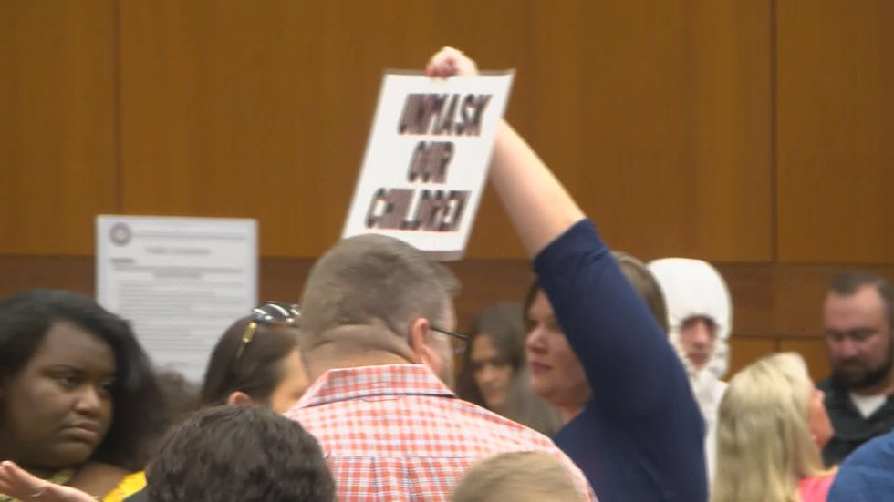 Parents outraged at BESE meeting