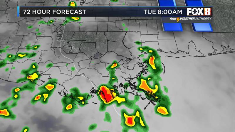 Clouds, warm temps and humidity return