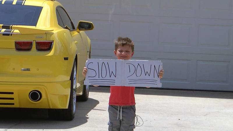 Seth Neal wants driver to SLOW DOWN!