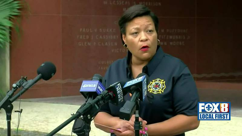 Mayor LaToya Cantrell updates residents on situation in New Orleans following Hurricane Ida