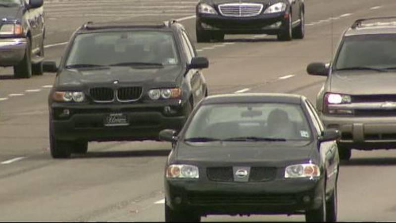 Motorists on the interstate.