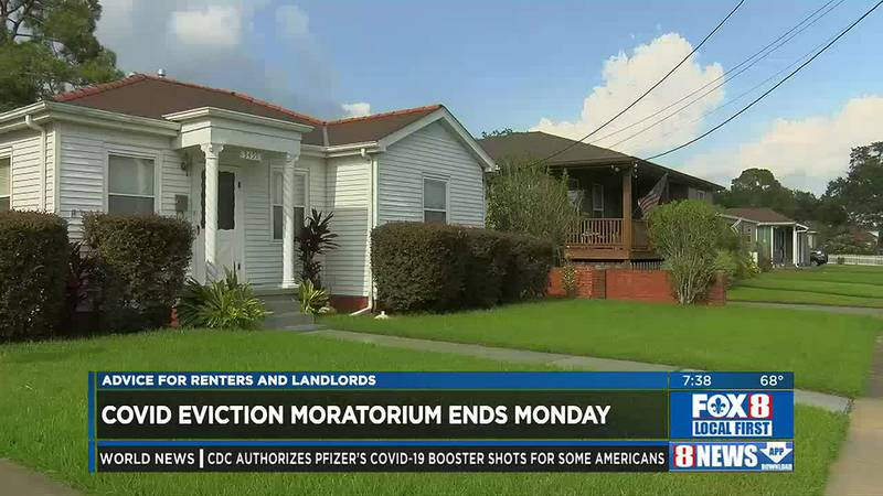 Eviction holds end on Monday