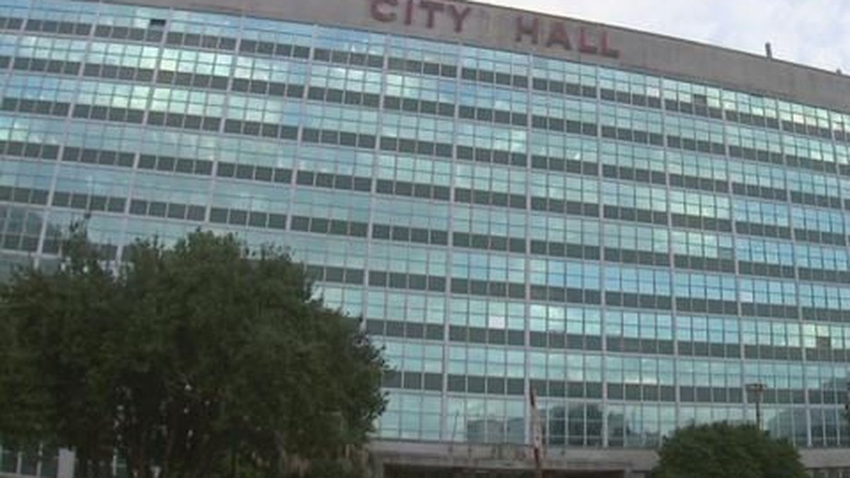 GF Default - Transition of power begins at New Orleans City Hall