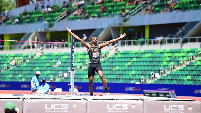 JuVaughn Harrison, aka Mr. Jumps, is headed to the Tokyo Olympics.