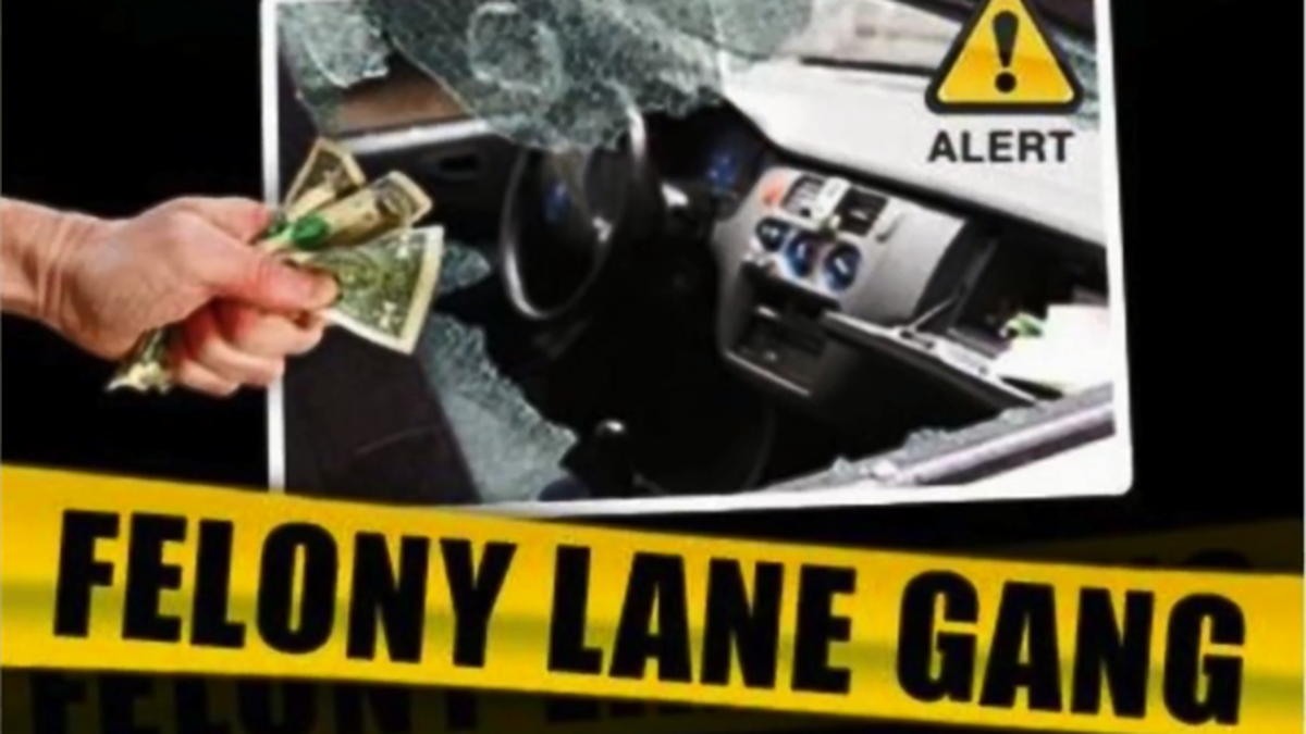The Felony Lane Gang is back in Louisiana. Slidell police say thieves have been burglarizing...