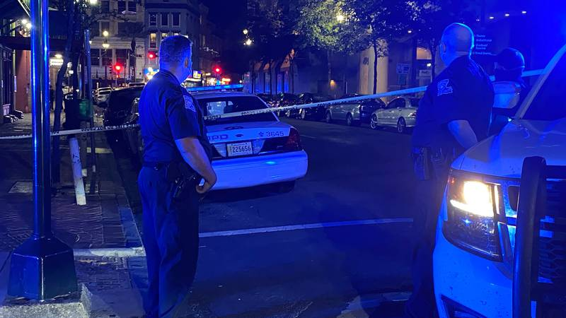 The New Orleans Police Department is investigating a shooting that occurred in Downtown New...