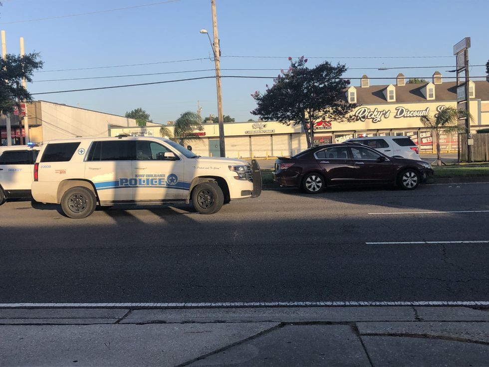 A police chase on I-10 ended in a crash off of Williams Boulevard in Kenner on Thurs., June 10.