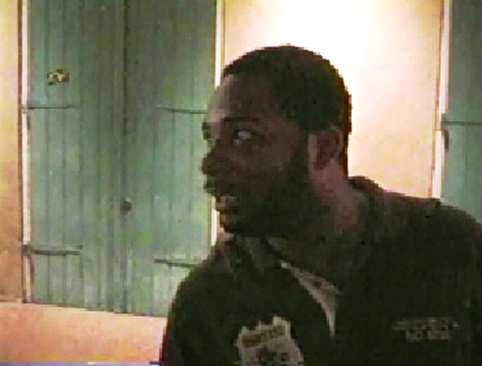 A still image from one of the videos, showing Arthur Johnson