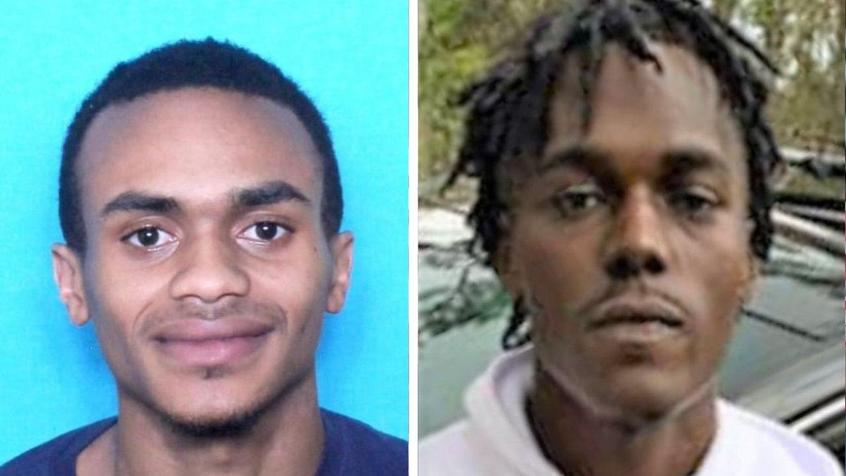 Police say they have identified Jonathan Bagnet (left), 28, as a suspect wanted for...