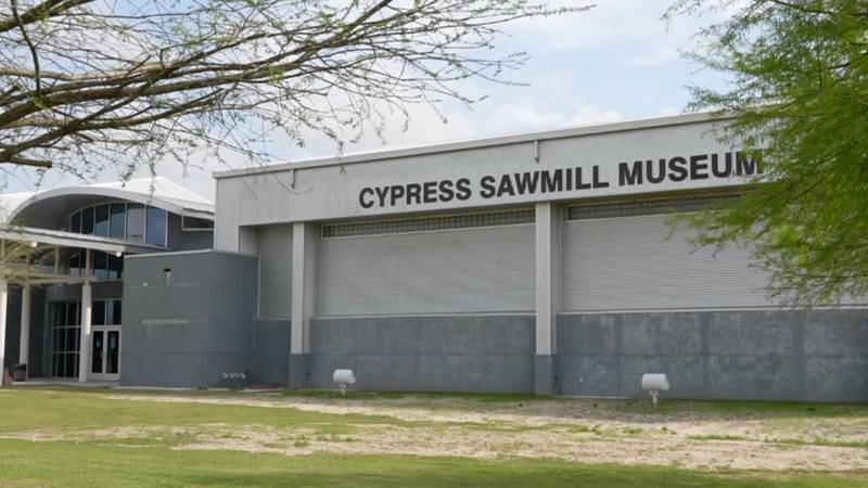 It was once the site of the largest cypress sawmill in the United States and maybe even the...