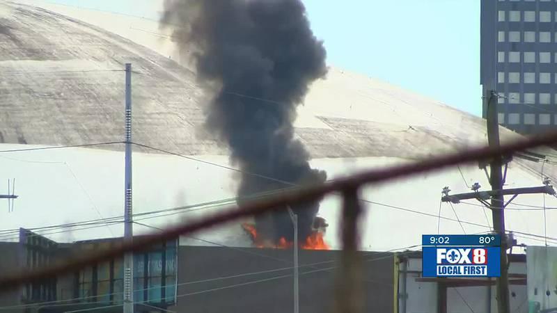 Superdome fire update at 9 p.m.