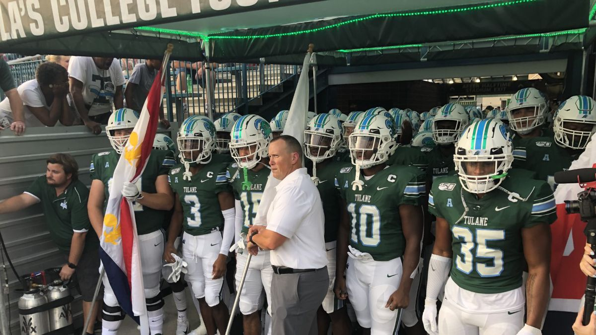 Tulane racked up 545 yards of total offense. (Source: WVUE)