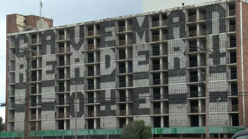 The site of the old Holiday Inn in New Orleans East has long been an eyesore seen from I-10.