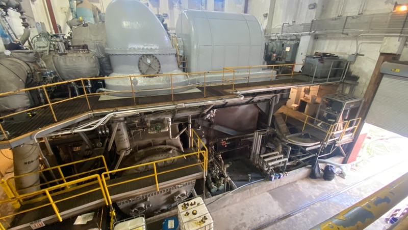 The New Orleans S&WB announced that Turbine 4 was repaired on the morning of Hurricane Ida.