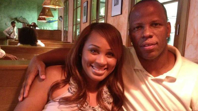 Facebook photo shows Ada Craige-Roberson and Rickey Roberson inside the Red Fish Grill, April...