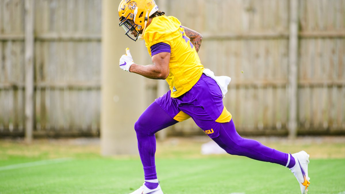 John Emery, Jr. can't suit up for LSU while he deals with an academic issue.