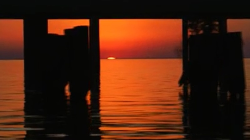 While sunsets may look beautiful from Saharan dust plume, doctors recommend watching it from...