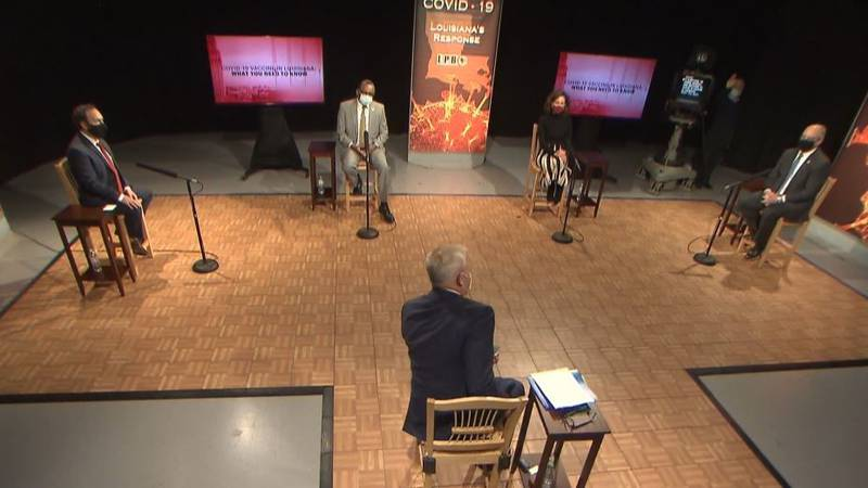 Medical experts and governor participate in roundtable to explain vaccine rollout and what's...
