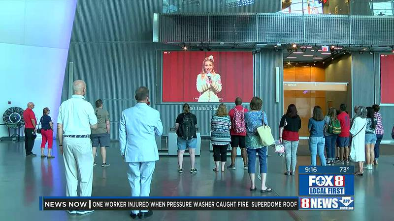 Reopening of the National World War II Museum for Wednesday, Sept. 22