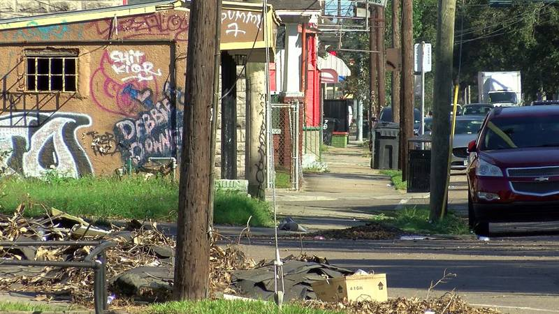 A man was killed in a barrage of gunfire St. Claude neighbors say they believe was meant for...