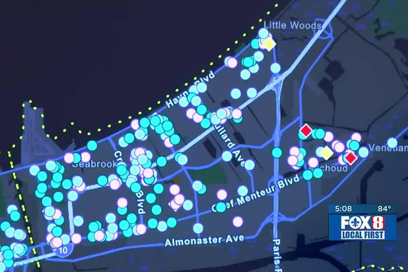 DA overdose mapping