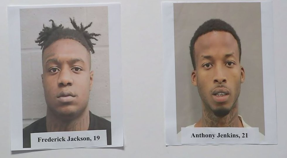 Anthony Jenkins and Frederick Jackson have been arrested for their suspected role in the fatal...