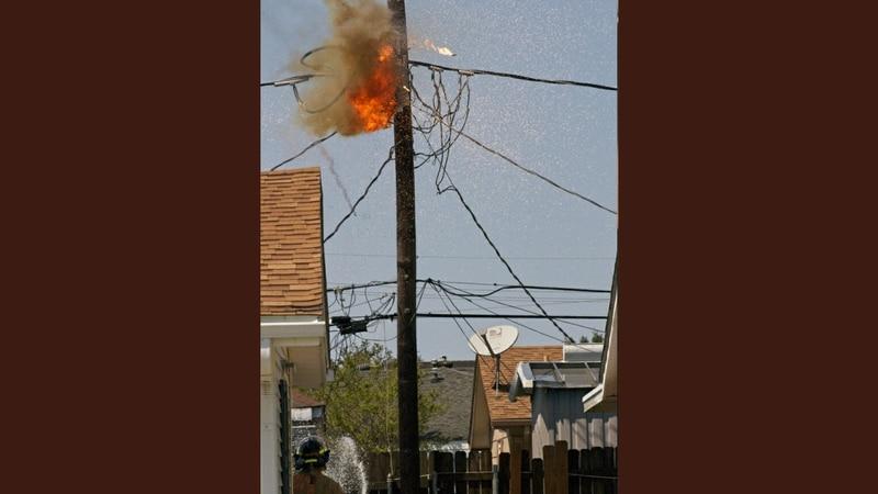 Entergy transformer explodes, catches fire